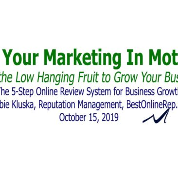 The 5-Step Online Review System for Business Growth | Debbie Kluska
