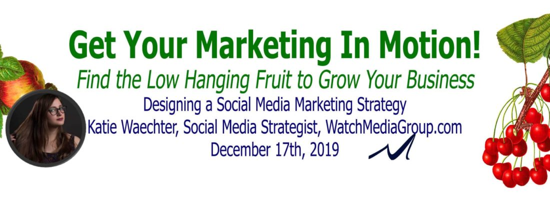 Designing a Social Media Marketing Strategy | Katie Waechter