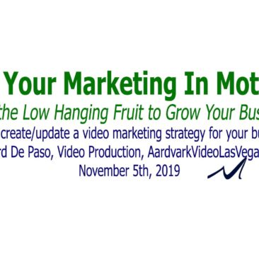 How to create or update a video marketing strategy for your business. | Richard De Paso