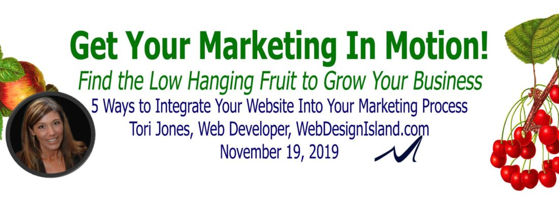 5 ways to fully integrate your website into your marketing process.   Tori Jones