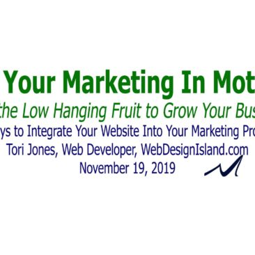 5 ways to fully integrate your website into your marketing process. | Tori Jones