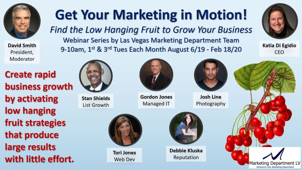Get Your Marketing in Motion Webinar Presentation Team 001