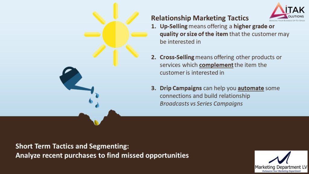 Take Control of Your Relationship Marketing, Katia DiEgidio, Webinar in the Series Get Your Marketing In Motion by the Team of MarketingDepartmentLV.com Slide 013