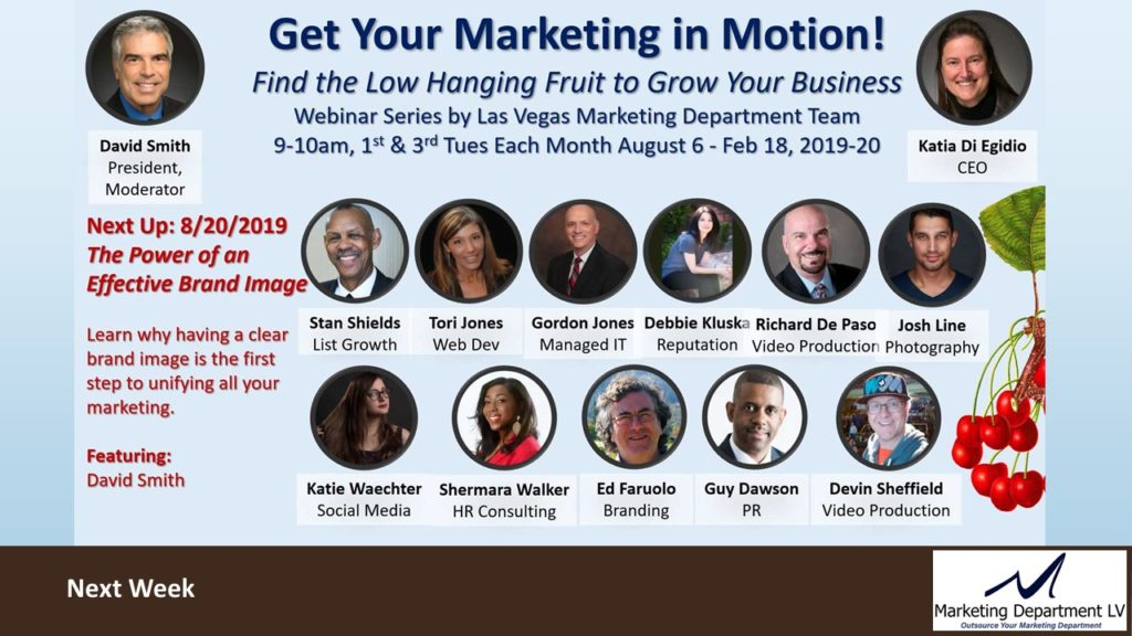Business Systems and Automation | Gordon Jones, Webinar in Series Get Your Marketing In Motion by the Team of MarketingDepartmentLV.com in Las Vegas Slide 013