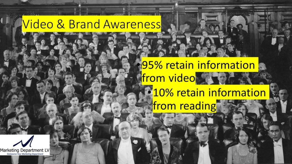 "Video Marketing Tactics, Richard De Paso, In the Webinar Series ""Get Your Marketing In Motion"" by Marketing Department LV LLC, Las Vegas, Nevada, Slide 011"