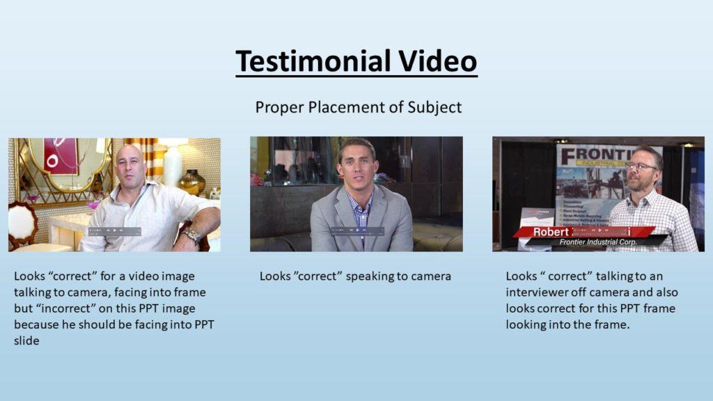 "Video Marketing Tactics, Richard De Paso, In the Webinar Series ""Get Your Marketing In Motion"" by Marketing Department LV LLC, Las Vegas, Nevada, Slide 033"