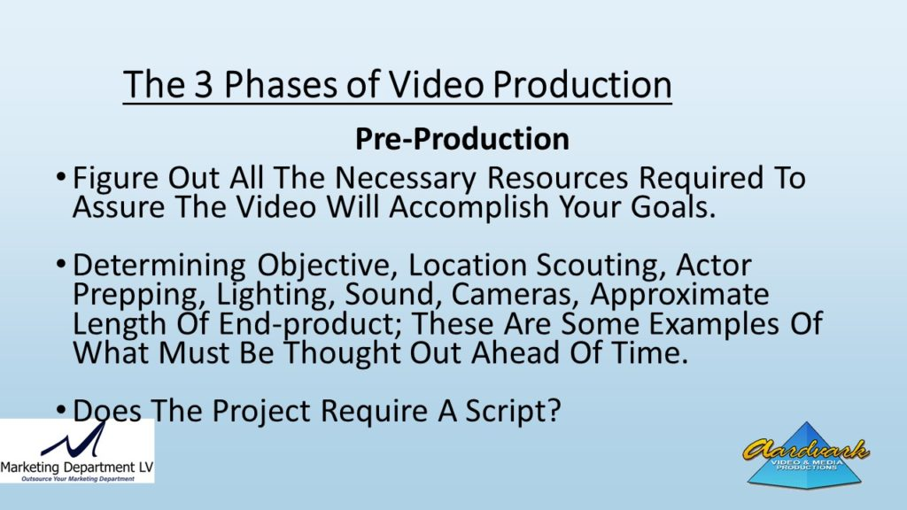 "Video Marketing Tactics, Richard De Paso, In the Webinar Series ""Get Your Marketing In Motion"" by Marketing Department LV LLC, Las Vegas, Nevada, Slide 053"