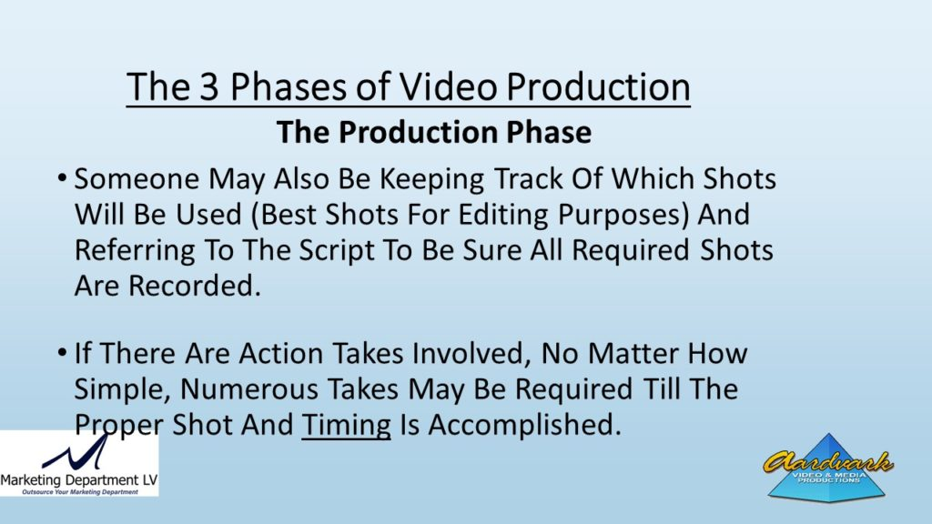 "Video Marketing Tactics, Richard De Paso, In the Webinar Series ""Get Your Marketing In Motion"" by Marketing Department LV LLC, Las Vegas, Nevada, Slide 050"