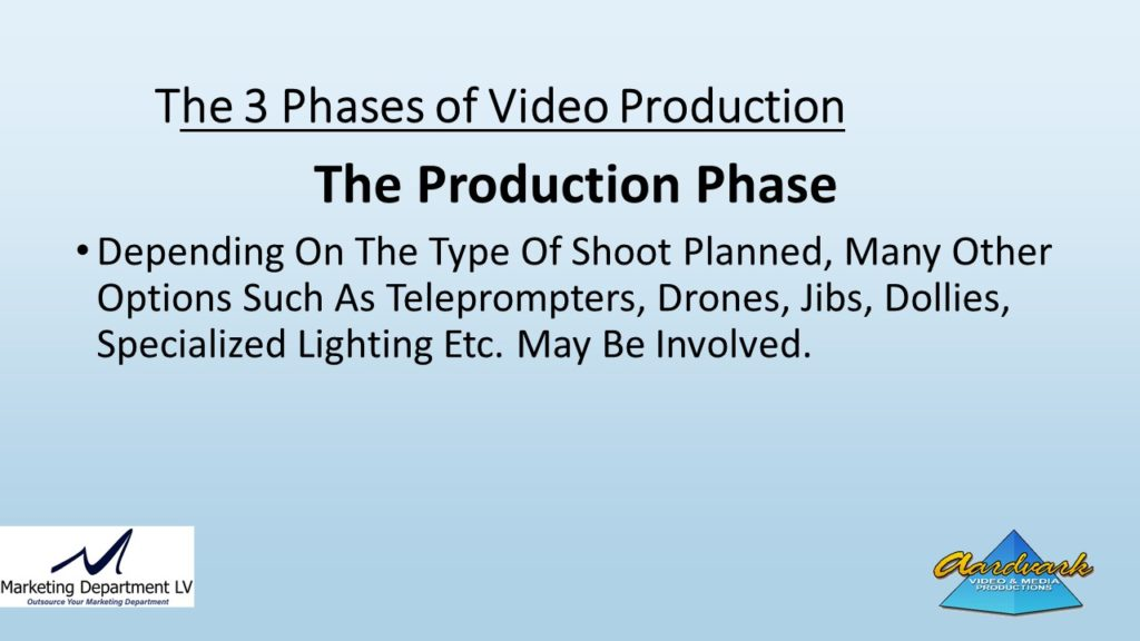 "Video Marketing Tactics, Richard De Paso, In the Webinar Series ""Get Your Marketing In Motion"" by Marketing Department LV LLC, Las Vegas, Nevada, Slide 049"