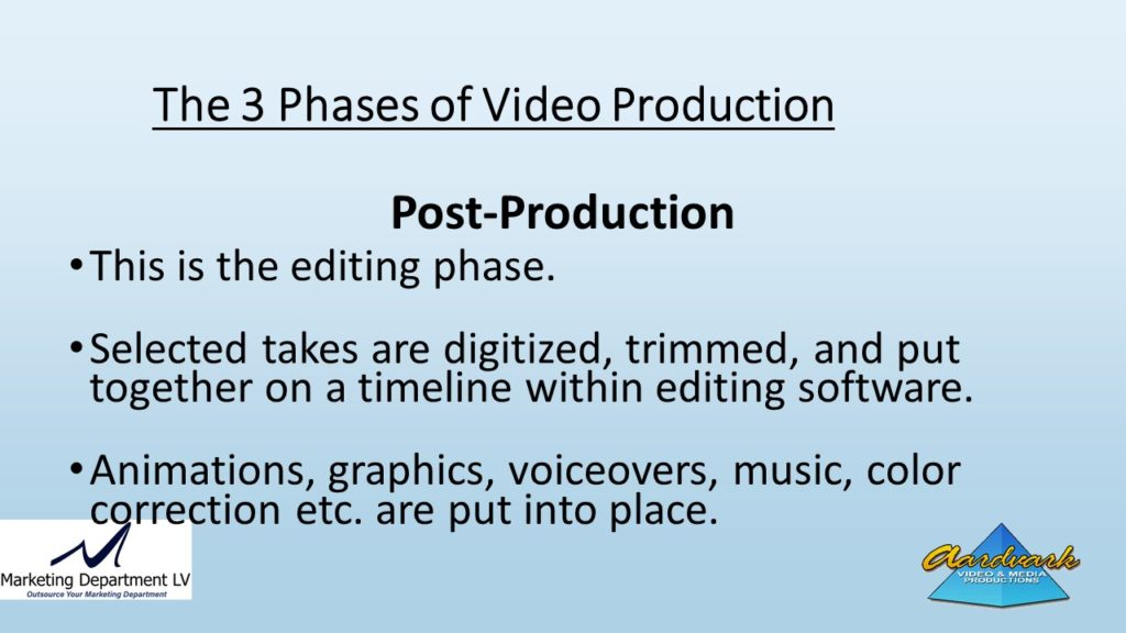 "Video Marketing Tactics, Richard De Paso, In the Webinar Series ""Get Your Marketing In Motion"" by Marketing Department LV LLC, Las Vegas, Nevada, Slide 048"