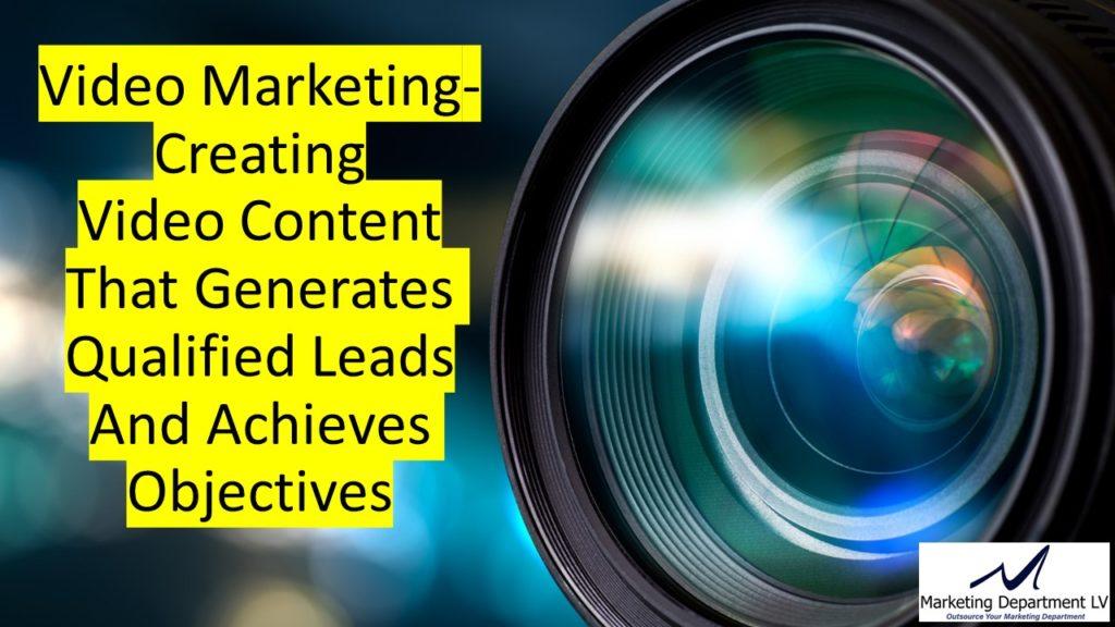 "Video Marketing Tactics, Richard De Paso, In the Webinar Series ""Get Your Marketing In Motion"" by Marketing Department LV LLC, Las Vegas, Nevada, Slide 008"