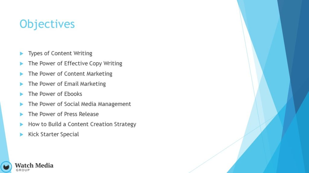 How to Communicate with Impact, Copywrighting Strategy, Katie Waechter, Webinar in Get Your Marketing In Motion Series by MarketingDepartmentLV.com Slide 002
