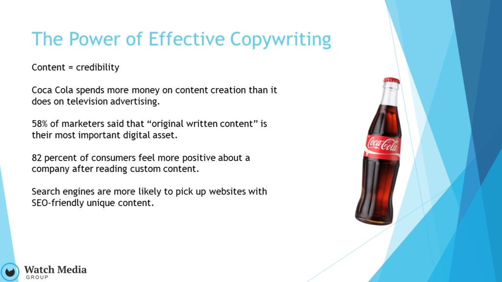 How to Communicate with Impact, Copywrighting Strategy, Katie Waechter, Webinar in Get Your Marketing In Motion Series by MarketingDepartmentLV.com Slide 004