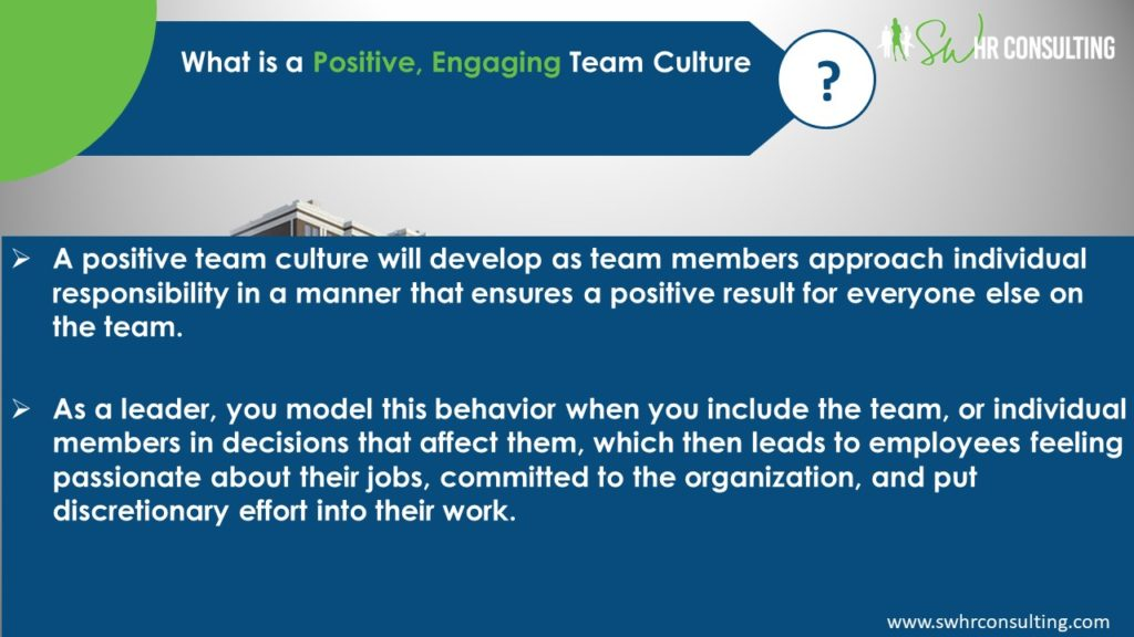 "Creating a Positive, Engaging Team Culture, Webinar Presenter Shermara Walker of SW HR Consulting in Las Vegas, Nevada, Part 12 of the MarketingDepartmentLV.com series ""Get Your Marketing In Motion"" Slide 005"